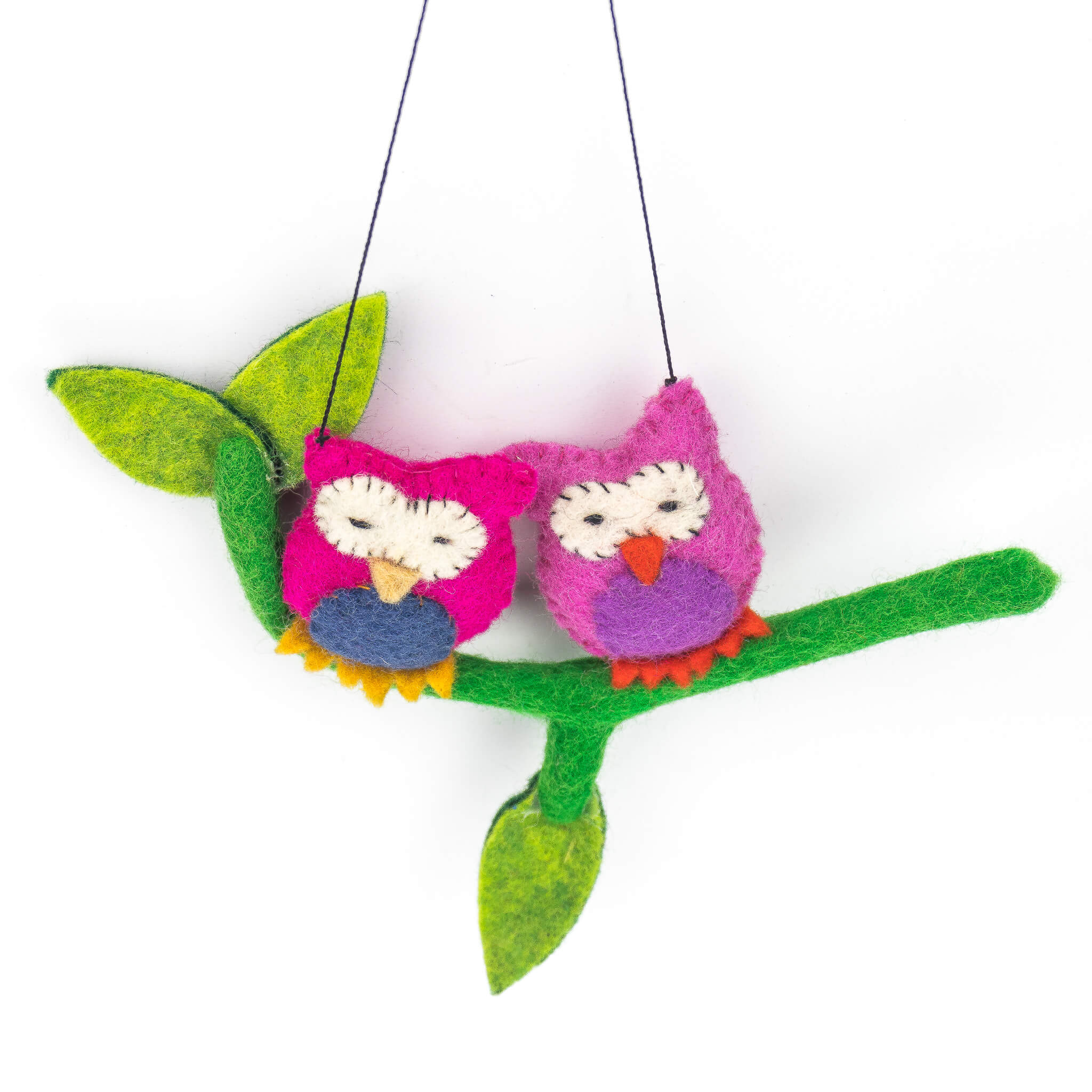 kid's toy - colorful toy - organic toy - kids hanger - pair bird hanger - thamelshop- pair bird hanger - bird hanger - christmas hanger - christmas bird hanger - christmas decorative item - wool decorative item - felt decorative item - handmade christmas decorative item - christmas hanger- handmade christmas hanger - handmade christmas item - handmade decorative item - christmas - christmas felt item - bird decorative item