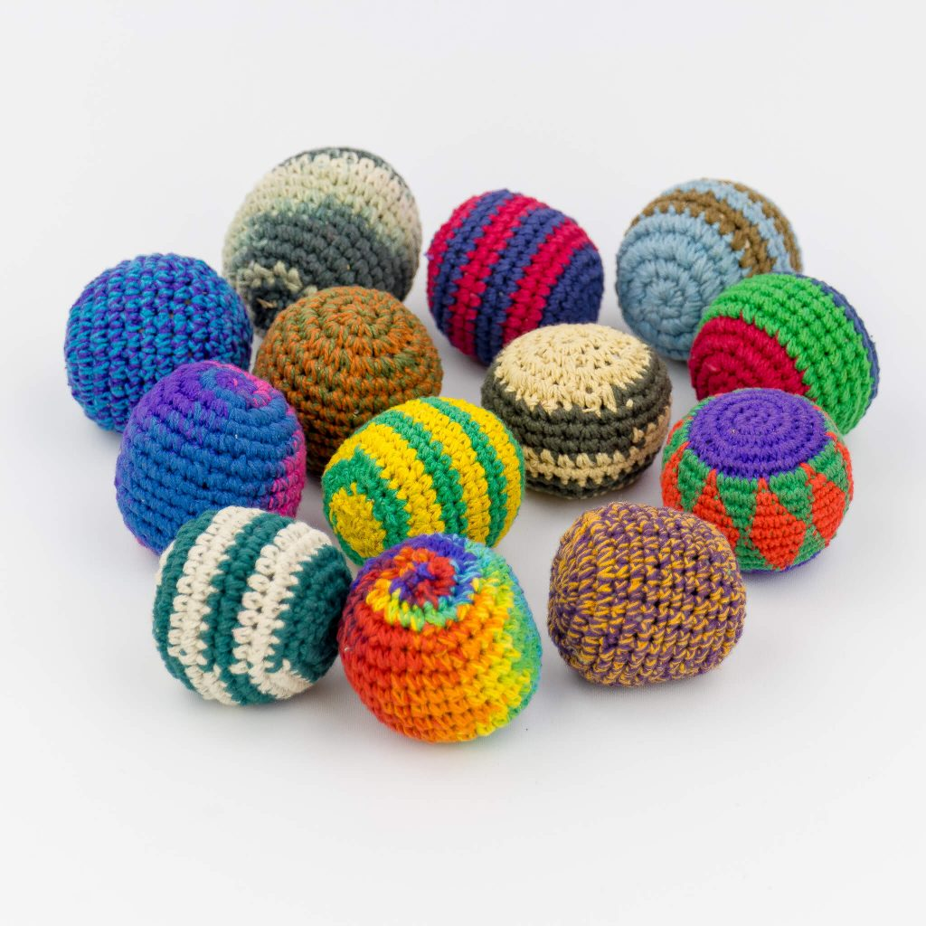 HSB7501- Hacky Sack Balls Set of 5