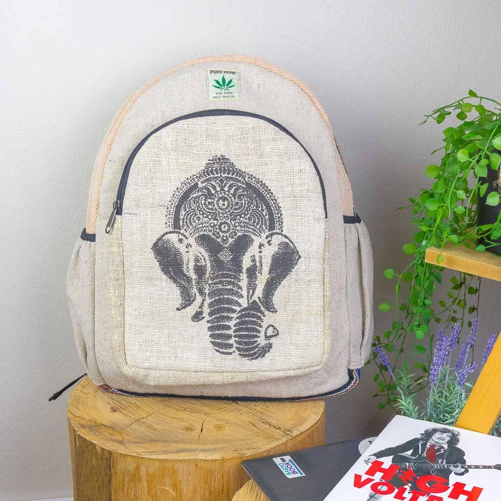 hemp bags, hemp backpacks