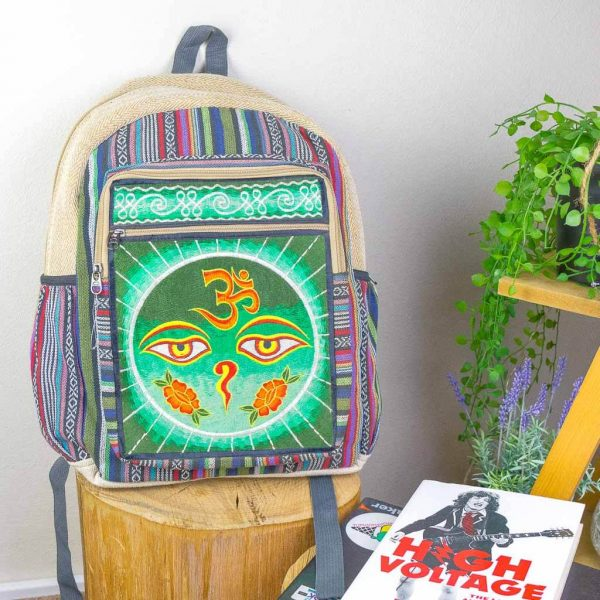 hemp bags, hemp backpacks